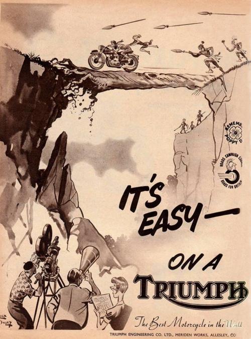 affiche pub triumph Tumblr10