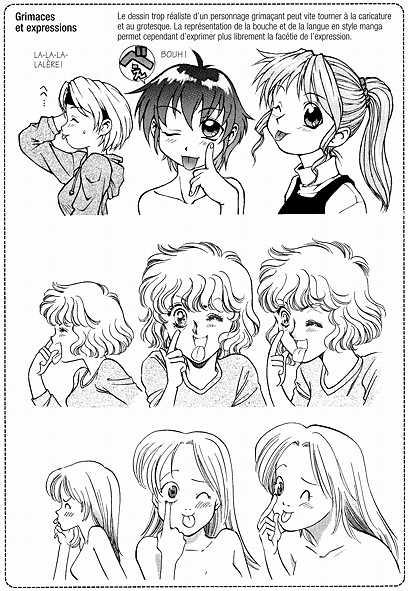 [Tutorial] Expressions du visage Manga010