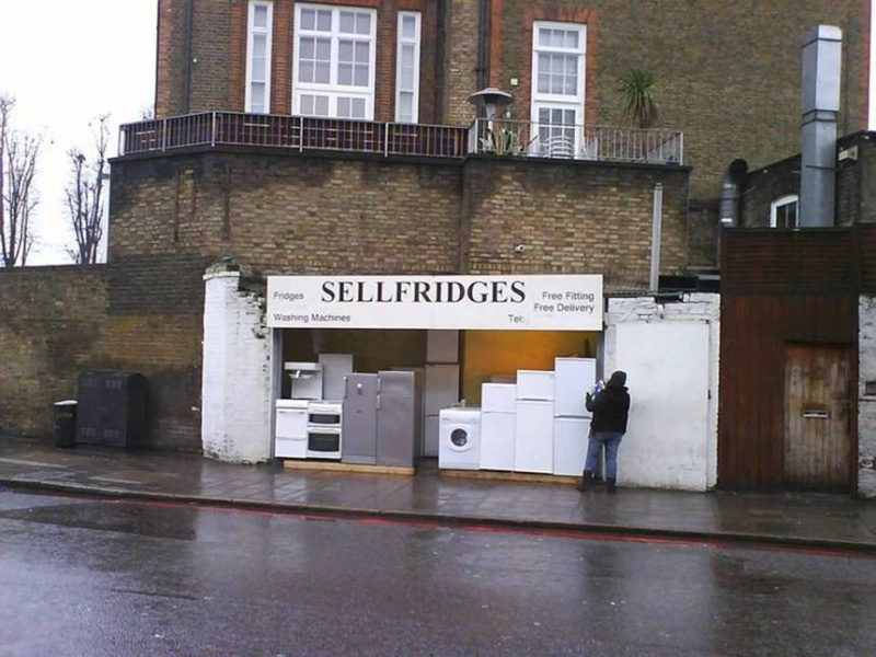 A posh shop in Liverpool Selfri12