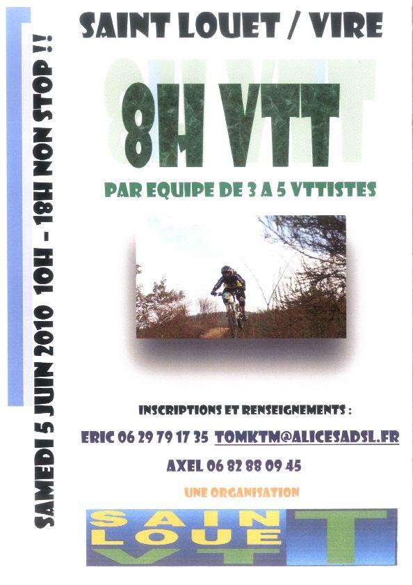 Saint Louet sur Vire : 8h endurance vtt - le 5 juin Affich10