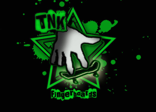 TNK Fingerboards Official Logo Tnkfin12