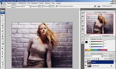 Photoshop – мануал «Делаем эффект движения в фотографии». 510
