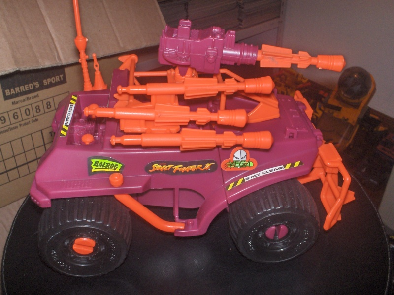 GIJOE Street Fighter II Crimson Cruiser 1993 Badger10