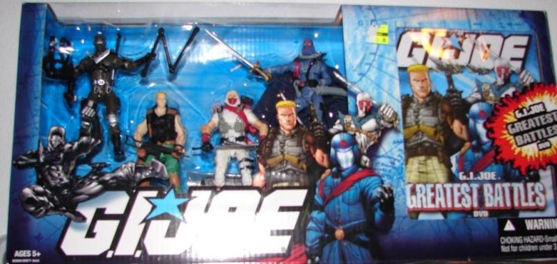 G.I. Joe Gratest Battles com DVD! Gb10
