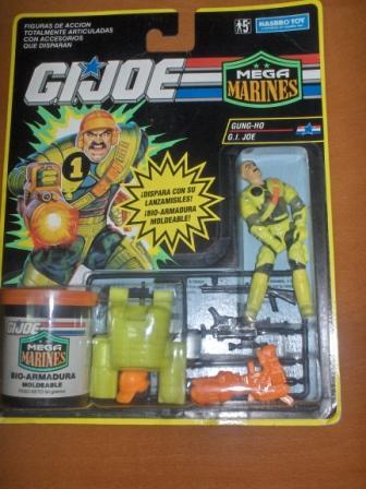 GI Joe Mega Marines Gung-ho 1993 Gunho210