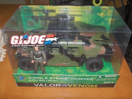 GIJOE VALOR VS VENON Jungle Strike HUMVEE with ROLLBAR Jungle10