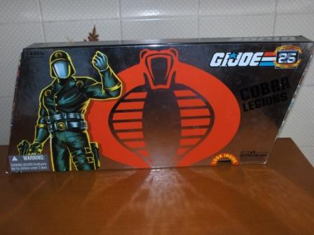 GI Joe 25th An. COBRA LEGIONS SET 2007 Pack10