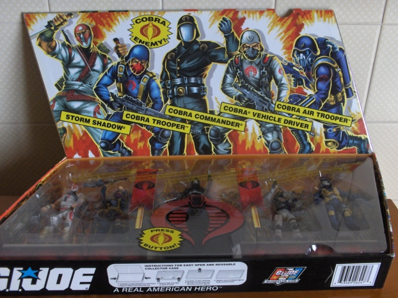GI Joe 25th An. COBRA LEGIONS SET 2007 Pack_110