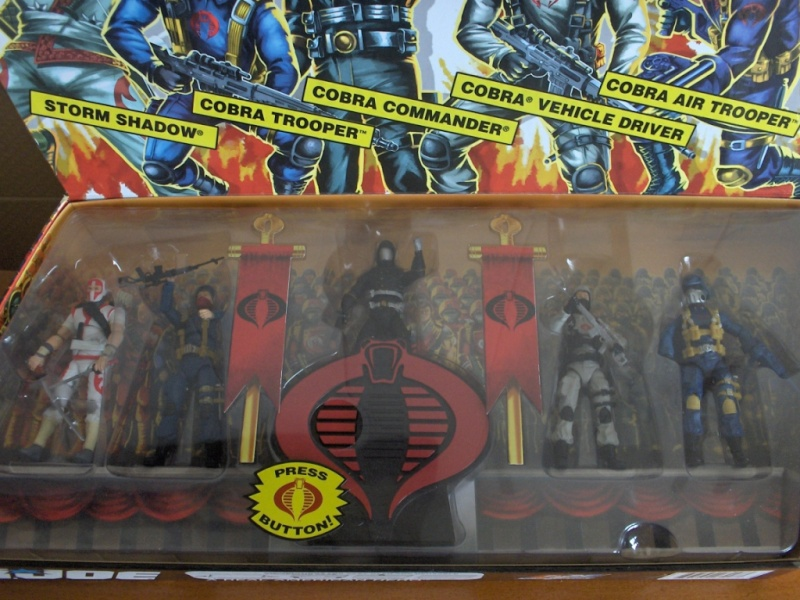 GI Joe 25th An. COBRA LEGIONS SET 2007 Pack_210