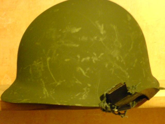 Norwegian M58 Helmet. Dsc01118