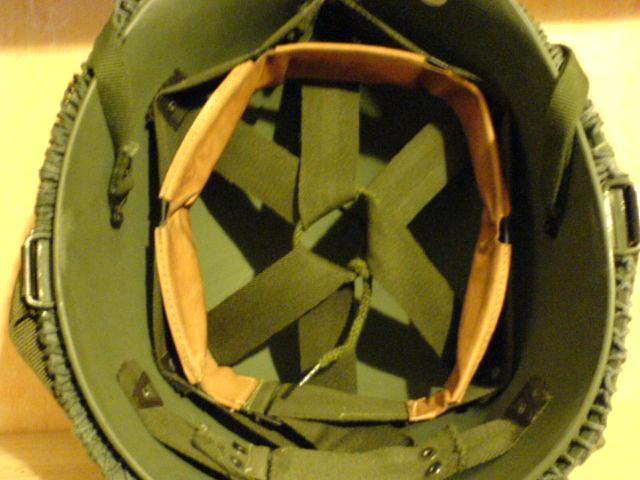 Norwegian M58 Helmet. Dsc01119