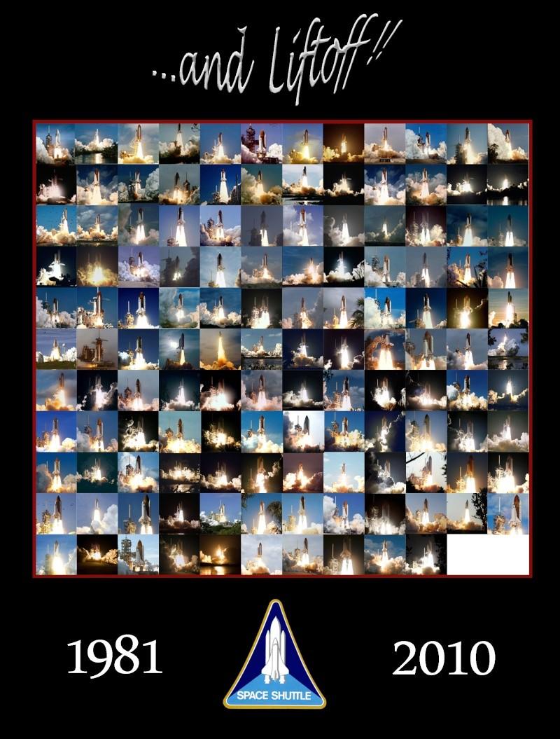 30ème anniversaire de la Navette Spatiale en 2011 Affich11