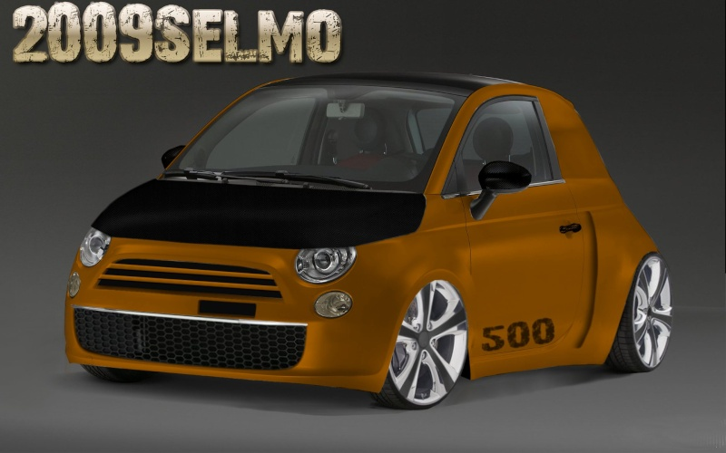 Fiat 500 Widebody 91743c10