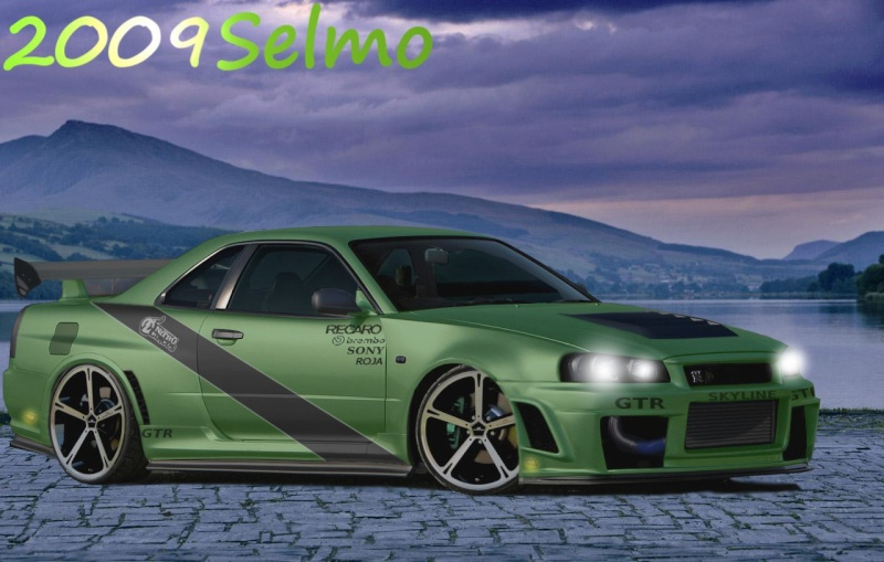 "SKYLINE GTR  [ ""BATTLE"" between Rox4evar and 2009Selmo]  E92-bm11"