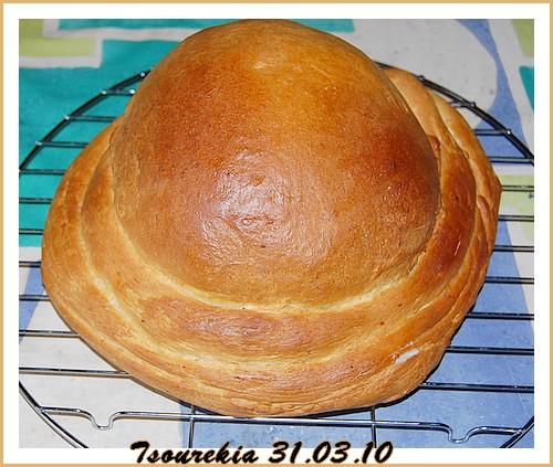 Tsourekia (Brioche grecque) Tsoure10