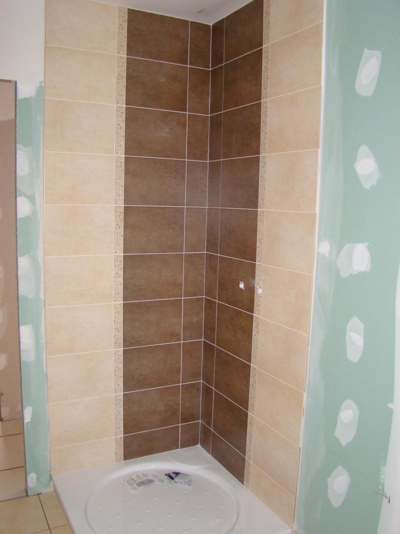 Quelle couleur avec le carrelage de la salle de bain - Salle de bains beige ...