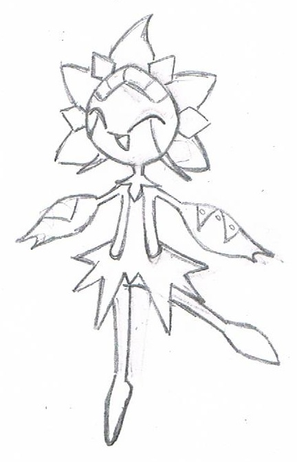 Heart's Pokemon Shining Sun Drawings Chloro10