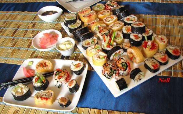 Feuilleté d'oeufs pour sushis, ou repas. Webimg12
