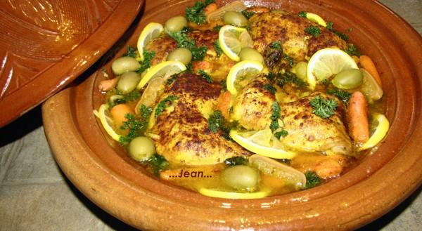 Tajine de poulet, olive et citrons confits X_1_im27