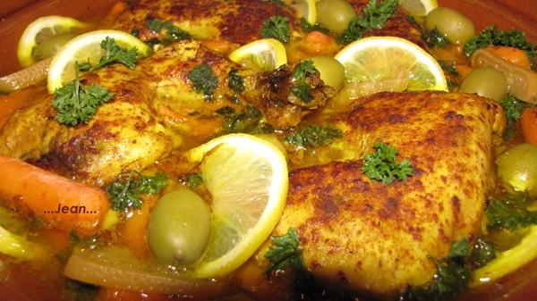 Tajine de poulet, olive et citrons confits X_1_im28