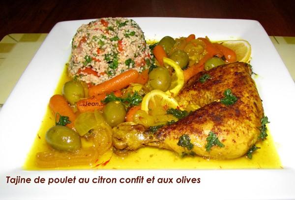 Tajine de poulet, olive et citrons confits X_1_im29