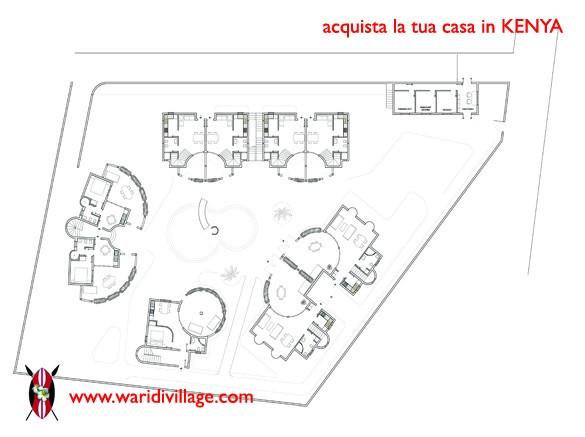 Nuovo complesso residenziale in costruzione a Watamu: WARIDI VILLAGE 1810