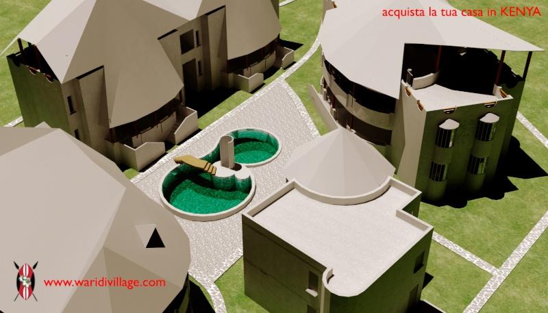 Nuovo complesso residenziale in costruzione a Watamu: WARIDI VILLAGE 2211