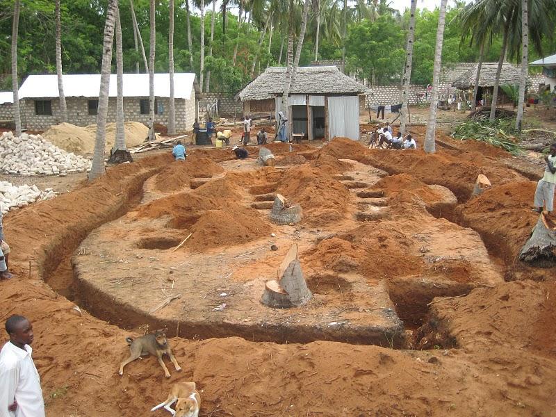 Nuovo complesso residenziale in costruzione a Watamu: WARIDI VILLAGE Scavo210