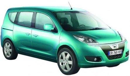 BOMBA! Dacia lanseaza modelul monovolum! Bomba-10