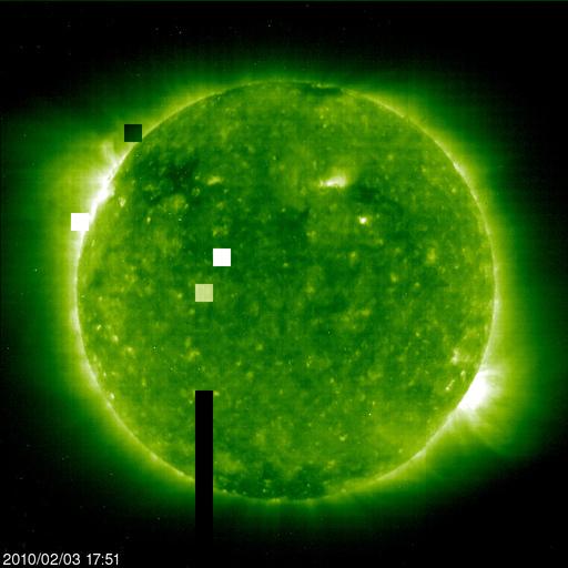 Ovnis de la taille de planètes autour du Soleil 20100218