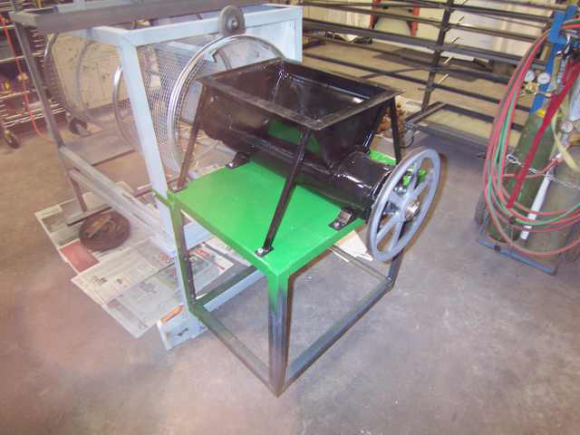 Compost sifter Auto-f10