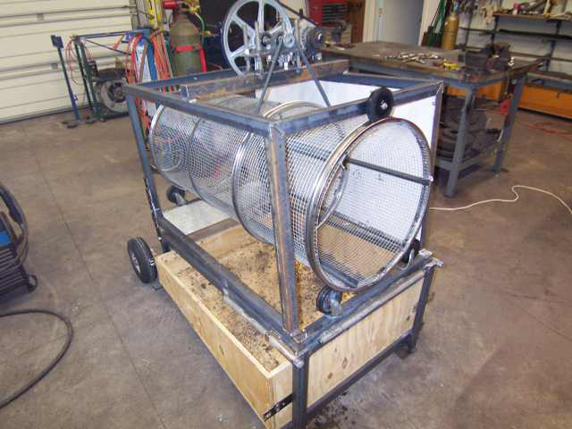 Compost sifter Compos10