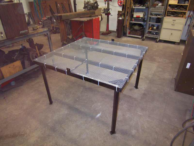 Building a Table Top SFG...some ideas Steelf10