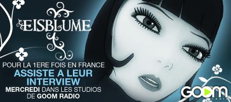 Gagne tes places pour l'interview exclusive de Eisblume! Eisblu11