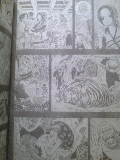 One Piece Manga 585 Spoiler Pics 216