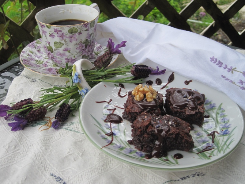 Lavender Brownies June_910