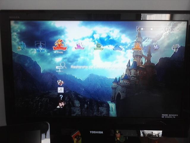 ma console de jeux (PS3) Mr Jack Skellington P15-0510