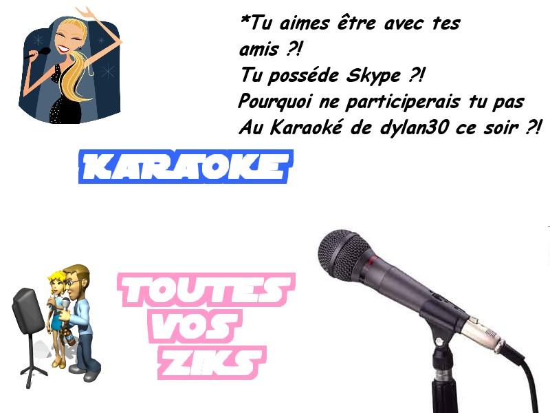 Soirée Karaoké chez dylan30 Karaok10