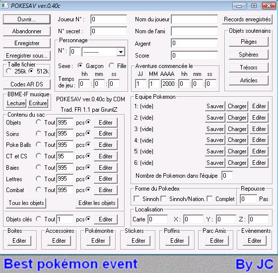 [TUTO]Pokésav création de fichier pokémon Pokesa17