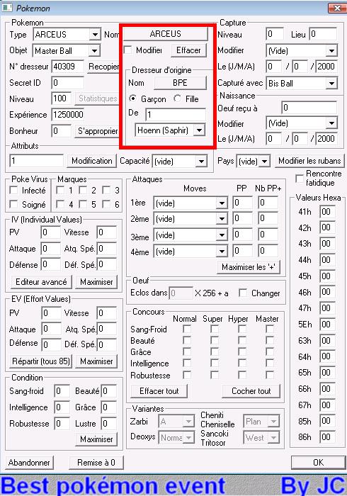 [TUTO]Pokésav création de fichier pokémon Pokesa29