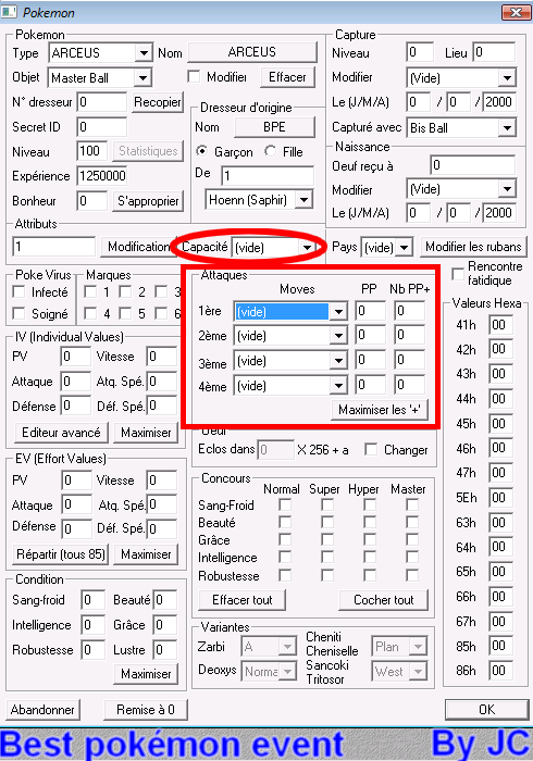 [TUTO]Pokésav création de fichier pokémon Pokesa30