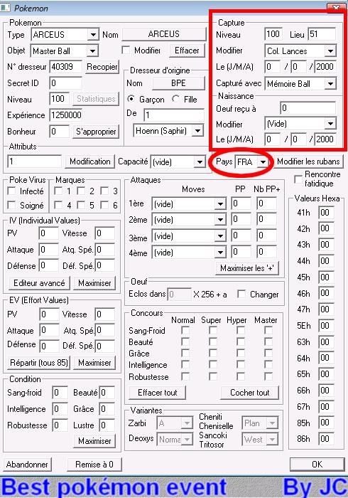 [TUTO]Pokésav création de fichier pokémon Pokesa31