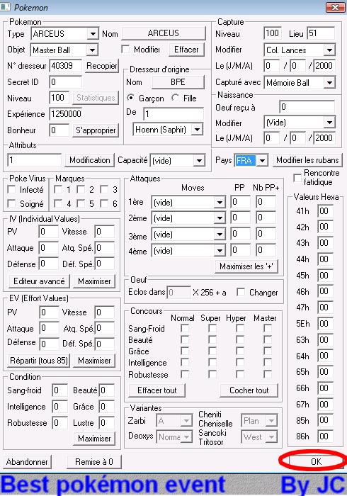 [TUTO]Pokésav création de fichier pokémon Pokesa33