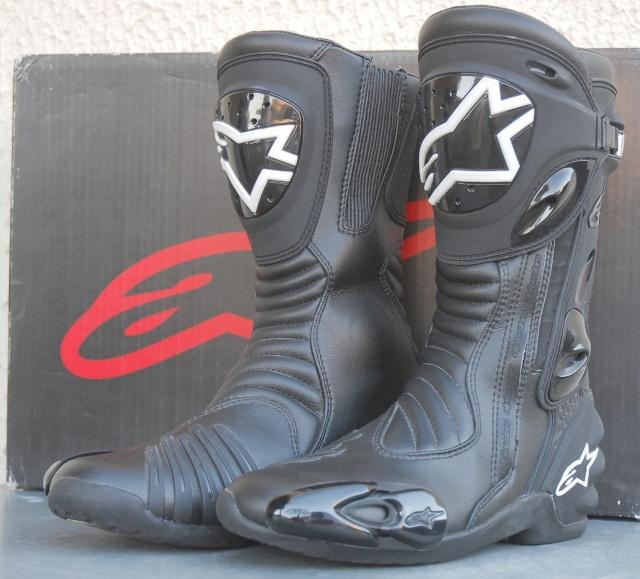 Bottes Alpinestars  S-MX R noir (taille 43) prix négociable (VENDUES) Dsc_7010