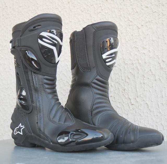 Bottes Alpinestars  S-MX R noir (taille 43) prix négociable (VENDUES) Dsc_7011