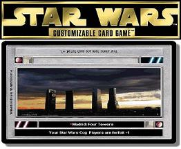 Star Wars CCG Decipher Madrid