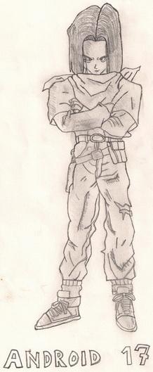 Anime i manga stil crtanja Androi12