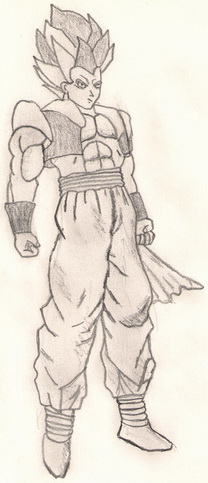 Anime i manga stil crtanja Gotenk11