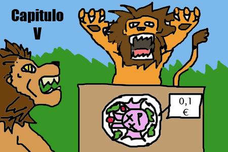 VaJ a... ¡Terranigma! - Capitulo V Leoncito leoncito, de leones de leones, leoncito, soy un leon Leonci10