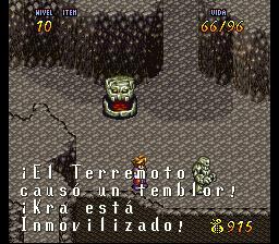 VaJ a... ¡Terranigma! - Capitulo III Kra se aberroncha contra el rocaje vivo Terra453